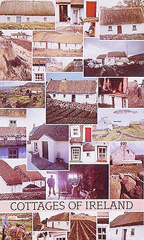 Traditional Cottages Of Ireland Poster