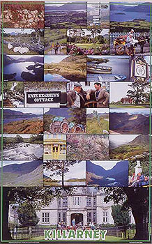 Killarney, Kerry, Ireland Colorful Poster (by Walter Pfeiffer)