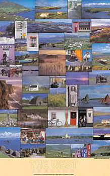West Of Ireland Landscapes Poster (by Liam Blake)
