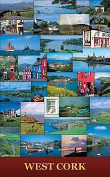 West Cork Irish Scenic Poster