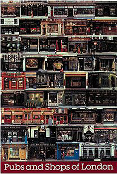 London Pubs and Shops Montage