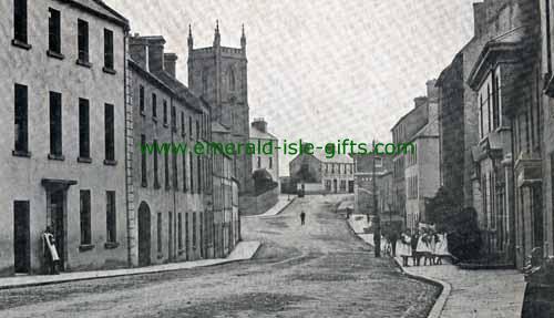 Mayo Ellison St Castlebar Mayo Old Irish Photos