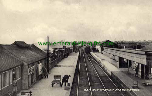 Claremorris - Mayo - Railway Station Photo Image
