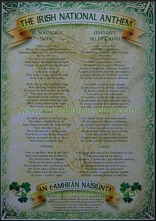 Irish National Anthem Celtic Style