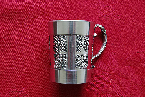 Small Celtic Whiskey Tankard