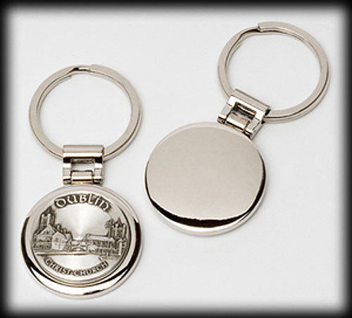 Dublin Pewter Keyring