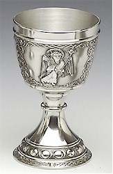 St Matthew Evangelist Pewter Cup