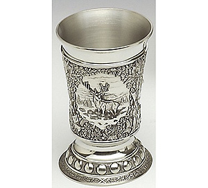 Pewter Measure - Woodlands - Stag