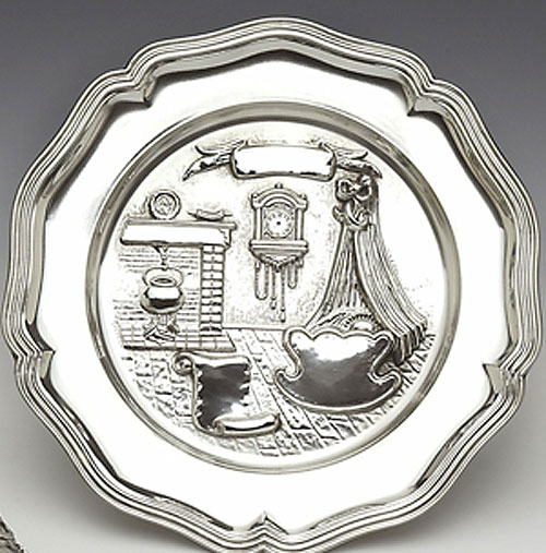 Mullingar Pewter Birth Plate