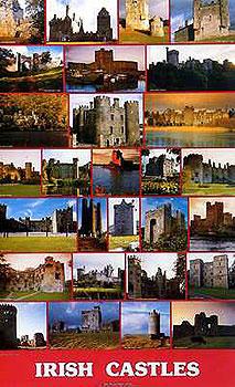 Irish Castles Poster