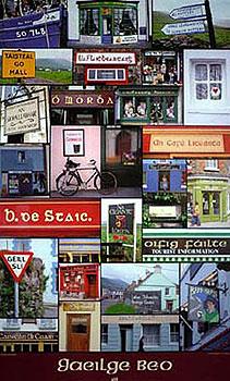 Gaeilge Beo Irish Language Poster