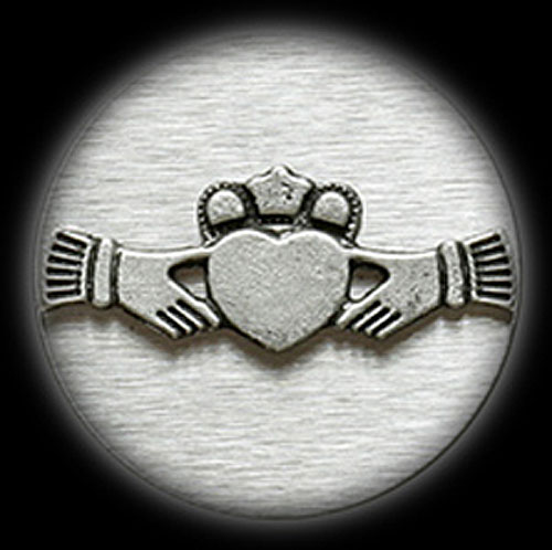 Pewter Money Clip - Claddagh