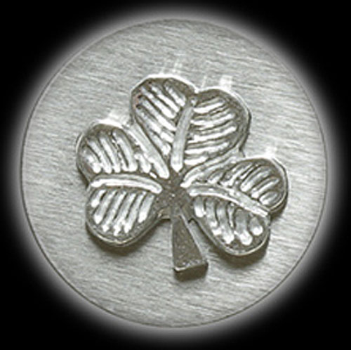 Shamrock Pewter Money Clip