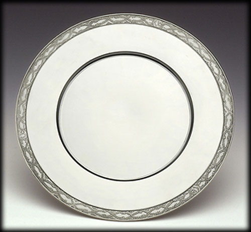 Pewter Service Plate