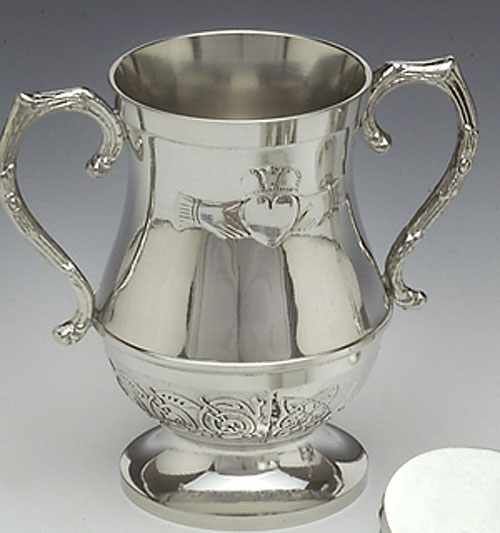 """Claddagh Wedding Cup (5"""" inches high)"""