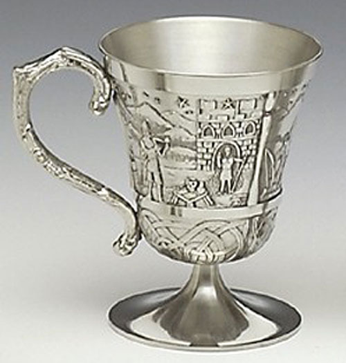 King Lugh Pewter Cup