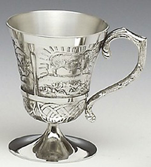 Queen Maeve Pewter Cup