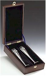 "Wedding Flutes Boxed (10"" high)"