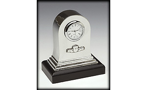 Irish Claddagh Pewter Mantle Clock