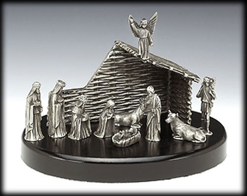 Mullingar Pewter Nativity Set