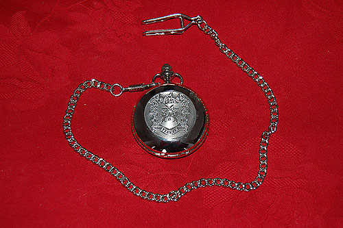 Brennan Coat of Arms Crest Pocket Watch