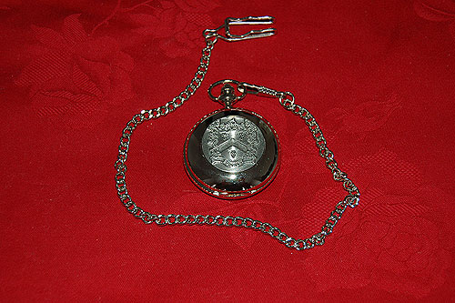 Buckley Coat of Arms Crest Pocket Watch