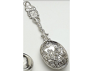 21st Birthday Pewter Spoon