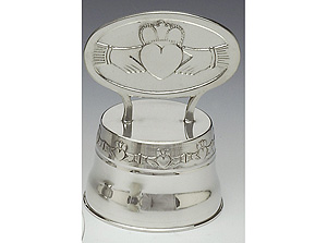 """Claddagh Caketop (5.5"""" inches  high)"""