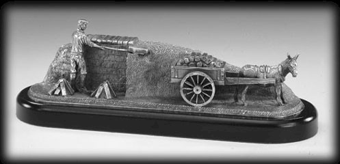 The Turf Cutter Sculpture