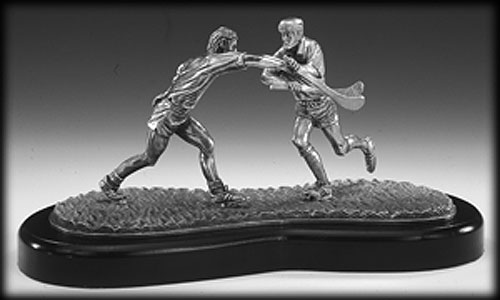 No Way Through GAA Pewter Sculpture