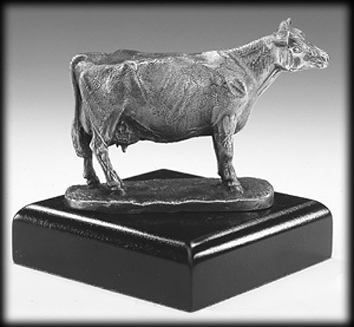 Mullingar Pewter Cow Sculpture