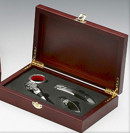 Pewter Wine Set