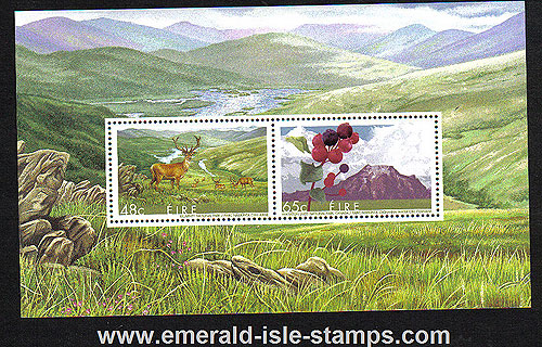 Ireland 2005 Biospheres Min Sh Mnh (joint Issue Canada)