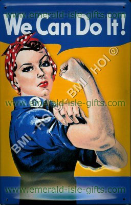 WE Can do it - American Women WW2 poster