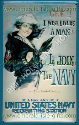 Join the Navy US WW2 Poster