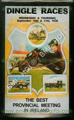 Dingle Races - 1930 poster on Metal Sign