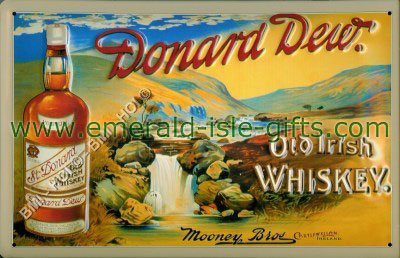 Donard Dew - Old Irish Whiskey Poster
