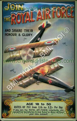 Join the Royal Air Force Recruitment Poster