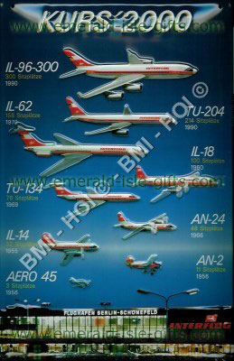Interflug - Kurs 2000 Poster