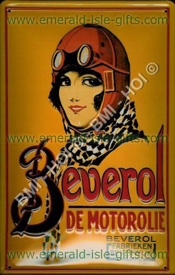 Beverol Motor Oil old advertisment