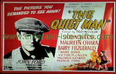 The Quiet Man Movie Poster reproduction