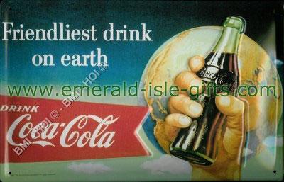 Coca Cola - Friendliest Drink on Earth (Metal Advert)