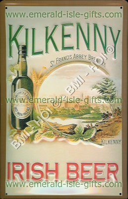 Kilkenny Irish Beer old poster advertisement