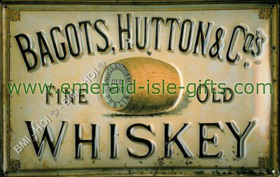 Baggots Hutton - Irish Whiskey Poster