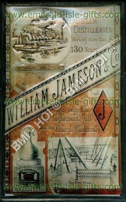 William Jameson - Dublin Distilleries Metal Sign