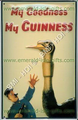 My Goodness My Guinness - Big Bird (Nostalgic metal sign)