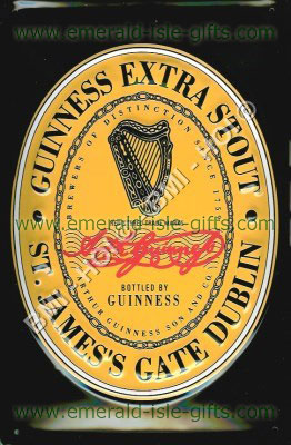 Guinness Extra Stout - Label