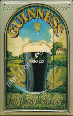 Guinness Stout - Taste of Ireland old poster