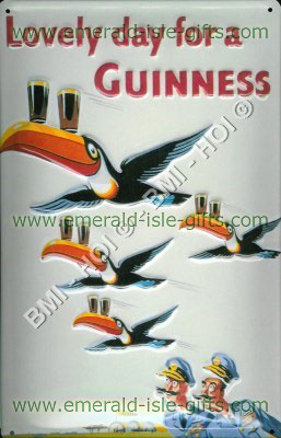 Lovely day for a Guinness - Flying Toucans
