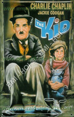 The Kid - Charlie Chaplin - Metal Sign
